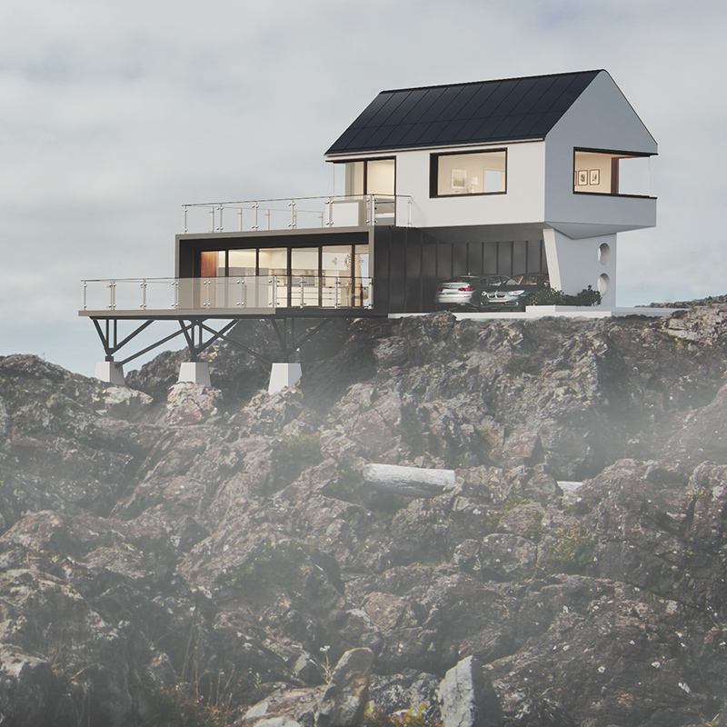 House on the Rocks